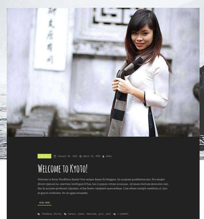 szablon wordpress kyoto